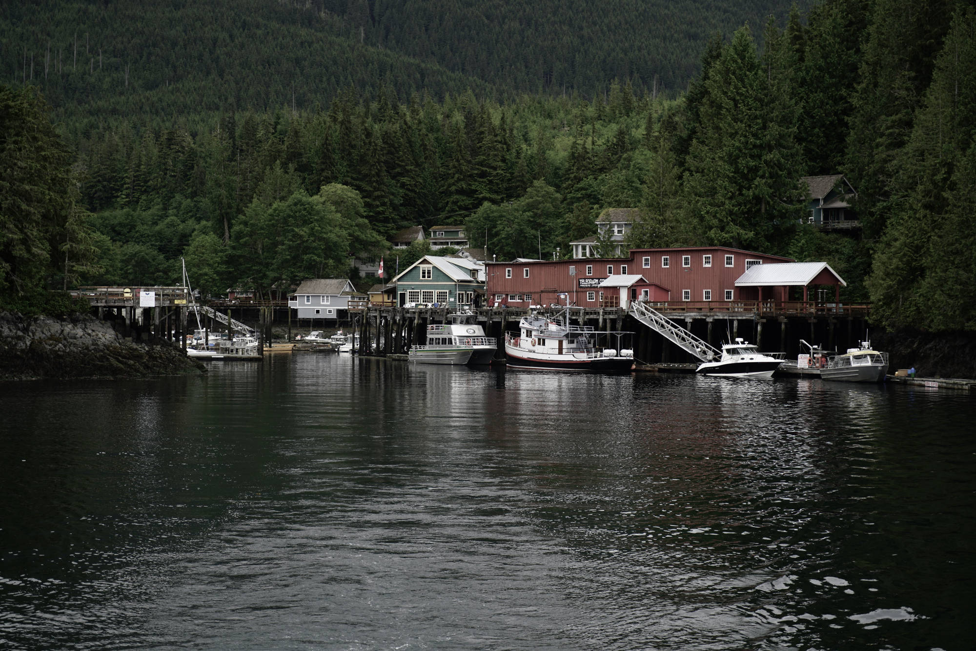 Telegraph Cove waterfront, BC