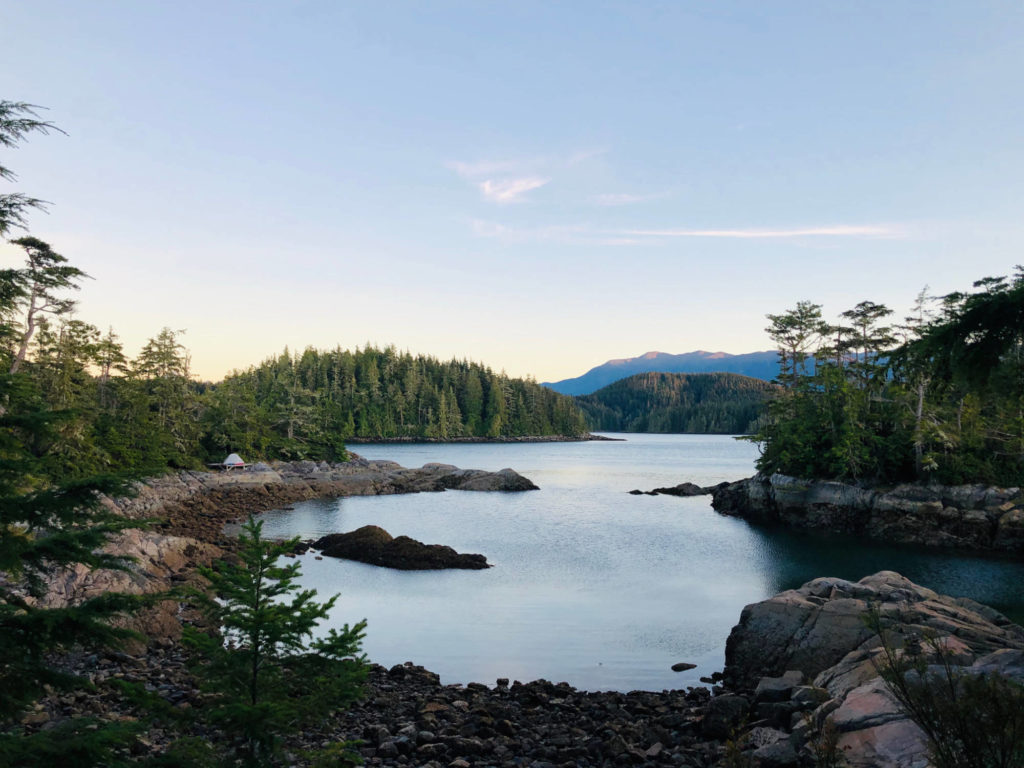 Maggy Point, Johnstone Strait